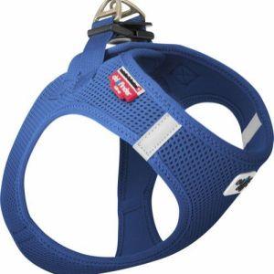 Curli Vest sele Air-mesh Blå, vælg størrelse L Brystmål 48-54cm