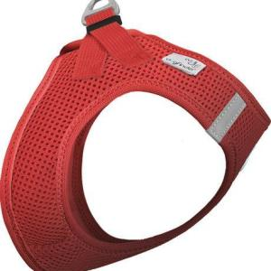 Curli Vest sele Air-mesh Rød, vælg størrelse L Brystmål 48-54cm