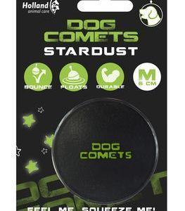 Dog Comets Stardust Multibold Ø6cm sort/grøn