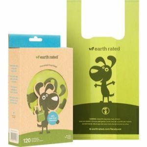 Eco-friendly neutral høm høm poser med håndtag 120stk