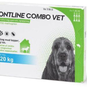Frontline Combo til hund 10-20kg 6 pip