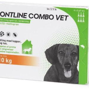 Frontline Combo til hund 2-10kg 6 pip