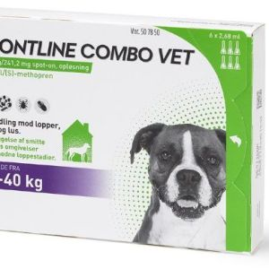 Frontline Combo til hund 20-40kg 6 pip