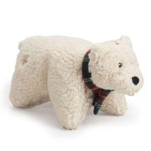 Huggle Hounds Snugglie Polar Bear Small