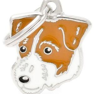 Hundetegn Friends Jack Russel Terrier Hvid/orange