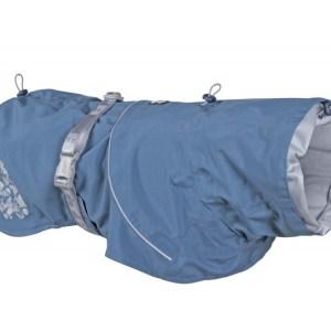 Hurtta Monsoon Regnfrakke Bilberry Blue 55cm