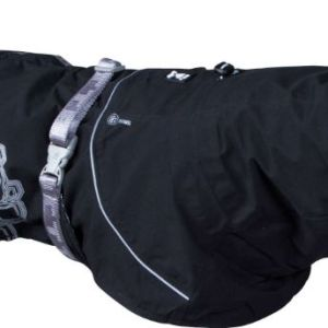 Hurtta regnjakke Drizzle Coat Raven 50cm