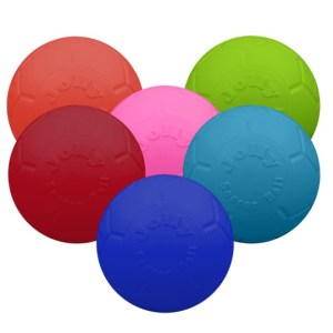 Jolly Punkterfri Fodbold Pink M/L - 20cm