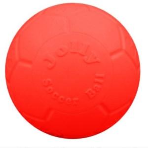 Jolly Punkterfri Fodbold orange S - 15cm