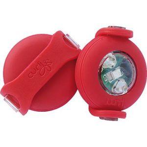 LED lygte til Curli sele rød 2stk