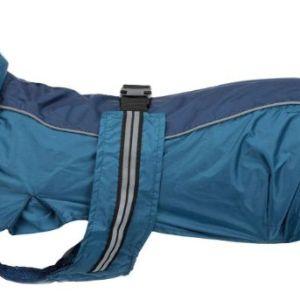 Mops regnfrakke Rouen Blå 30cm*