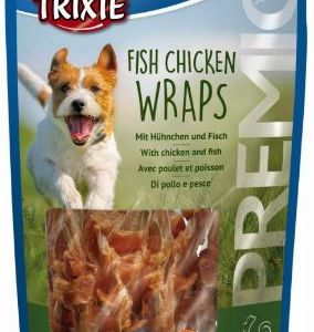 Premio Fish Chicken Wraps 80g