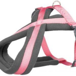 Premium Sele m. fleece Pink, vælg størrelse M-L