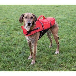 Redningsvest til hund Rød Medium*
