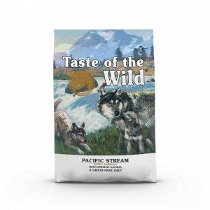 Taste Of The Wild Pacific Stream Hvalpefoder - Med Laks - 12,2kg - Kornfrit