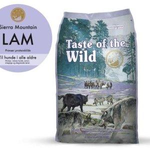 Taste Of The Wild Sierra Mountain Hundefoder - Med Lam - 2kg - Kornfrit - - - -