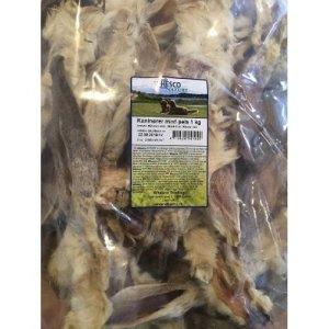Whesco Hunde Snack Kaninøre - Med Pels - Naturlige - - - -