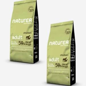 2x12 kg Naturea Naturals Adult m/ Kylling