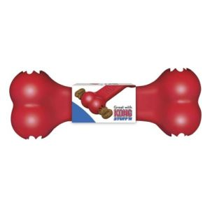 Kong Goodie bone, rød eller sort Rød/Large