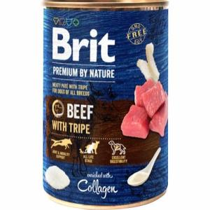 Brit Premium By Nature Beef W/Tripes, 400 g