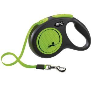 Flexi hundesnor - New Neon Special Edition - Neongrøn - M