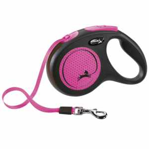 Flexi hundesnor - New Neon Special Edition - Neonpink - M
