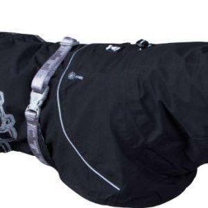 Hurtta regnjakke Drizzle Coat Raven 35cm