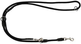 KW Walker Læder Dressurline Sort sort 0,8x220 cm