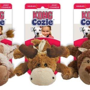 Kong Hundelegetøjs Cozie Naturals Bamse