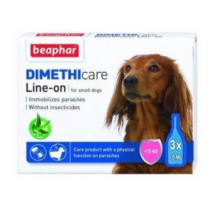 Beaphar Loppe & Flåt Line On (Dimethicone) - Hunde Under 15kg