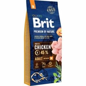 Brit Premium By Nature Chicken Adult, 15 kg