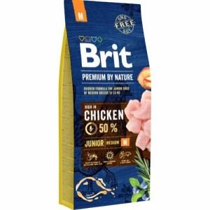 Brit Premium By Nature Chicken Junior, 15 kg