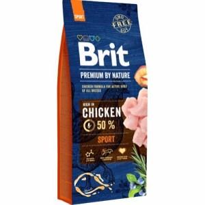 Brit Premium By Nature Chicken Sport, 15 kg