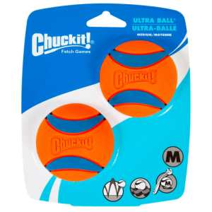 Chuckit bolde - Ultra Ball Medium - 2-pak