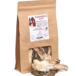EASY BARF Kaninører med pels, 30 stk.