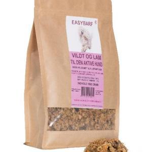 Easy Barf Adult aktive vildt/lam 3 kg
