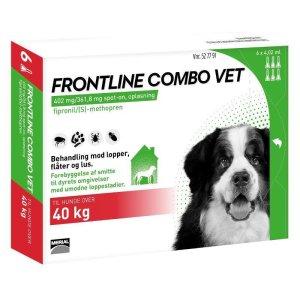 Frontline Combo - Hund over 40 kg - 6 Pipetter