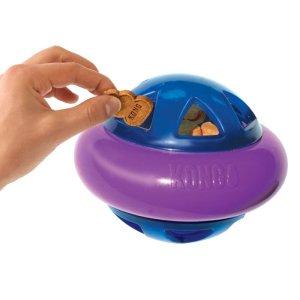 Kong Hunde Aktivitetslegetøjs Hopz Bold i Gummi - Small - 11cm