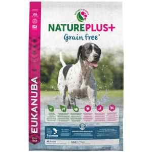 Eukanuba hundefoder - Nature plus+ grain free - Laks