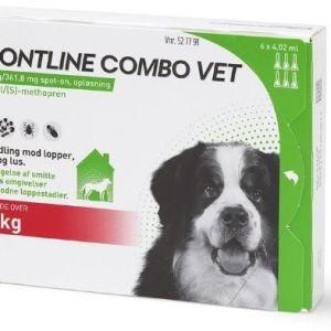 Frontline Combo til hund +40kg 6pip