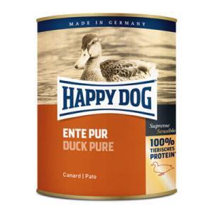 HAPPY DOG Vådfoder til hund - singleprotein And - 400 g