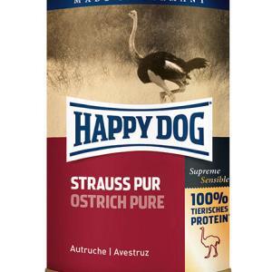 HAPPY DOG vådfoder til hund - singleprotein struds - 400 g
