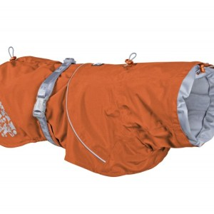 Hurtta Monsoon Regnfrakke Buckthorn Orange 50cm