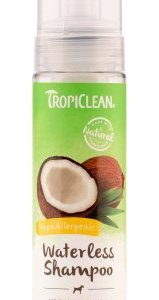 Tropiclean Waterless Shampoo - Hypo allergenic 220ml