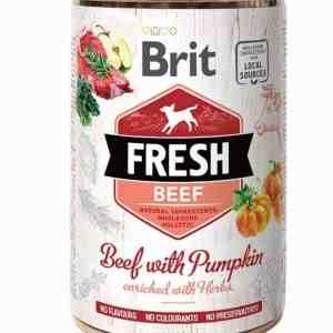 Brit Beef with Pumpkin