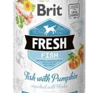 Brit Fish with Pumpkin