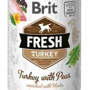 Brit Turkey with Peas