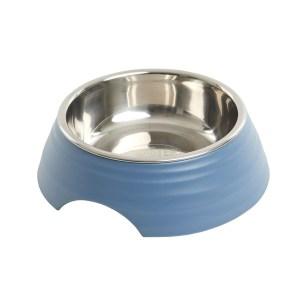 Buster frosted ripple madskål, blå-M