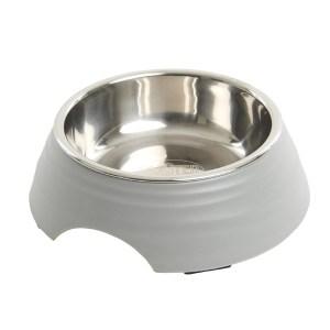 Buster frosted ripple madskål, grå-M