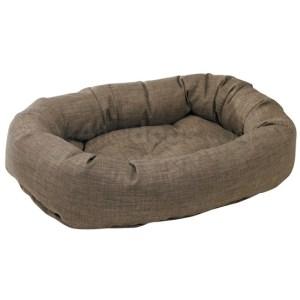 Donut slidstærk hundeseng DriftwoodLinen-M